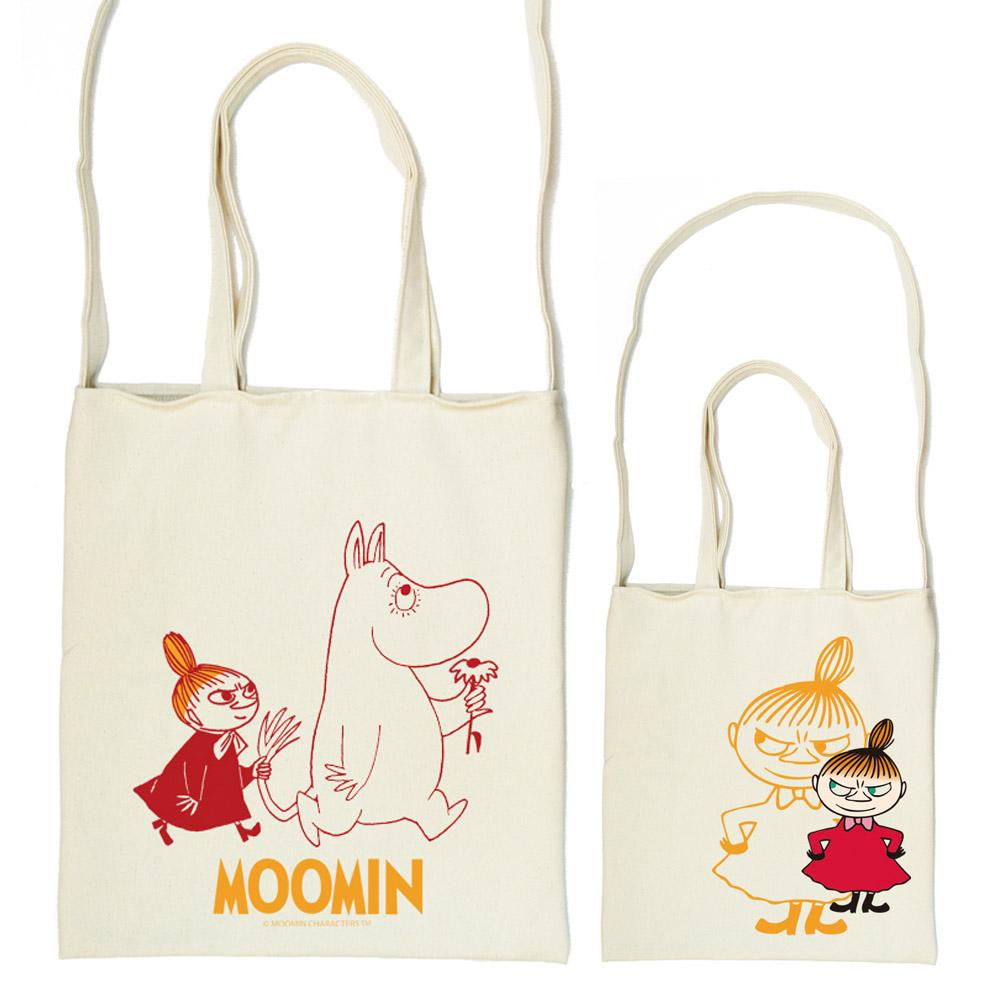 YOSHI850 Moomin嚕嚕米正版授權:斜背包【跟屁蟲】
