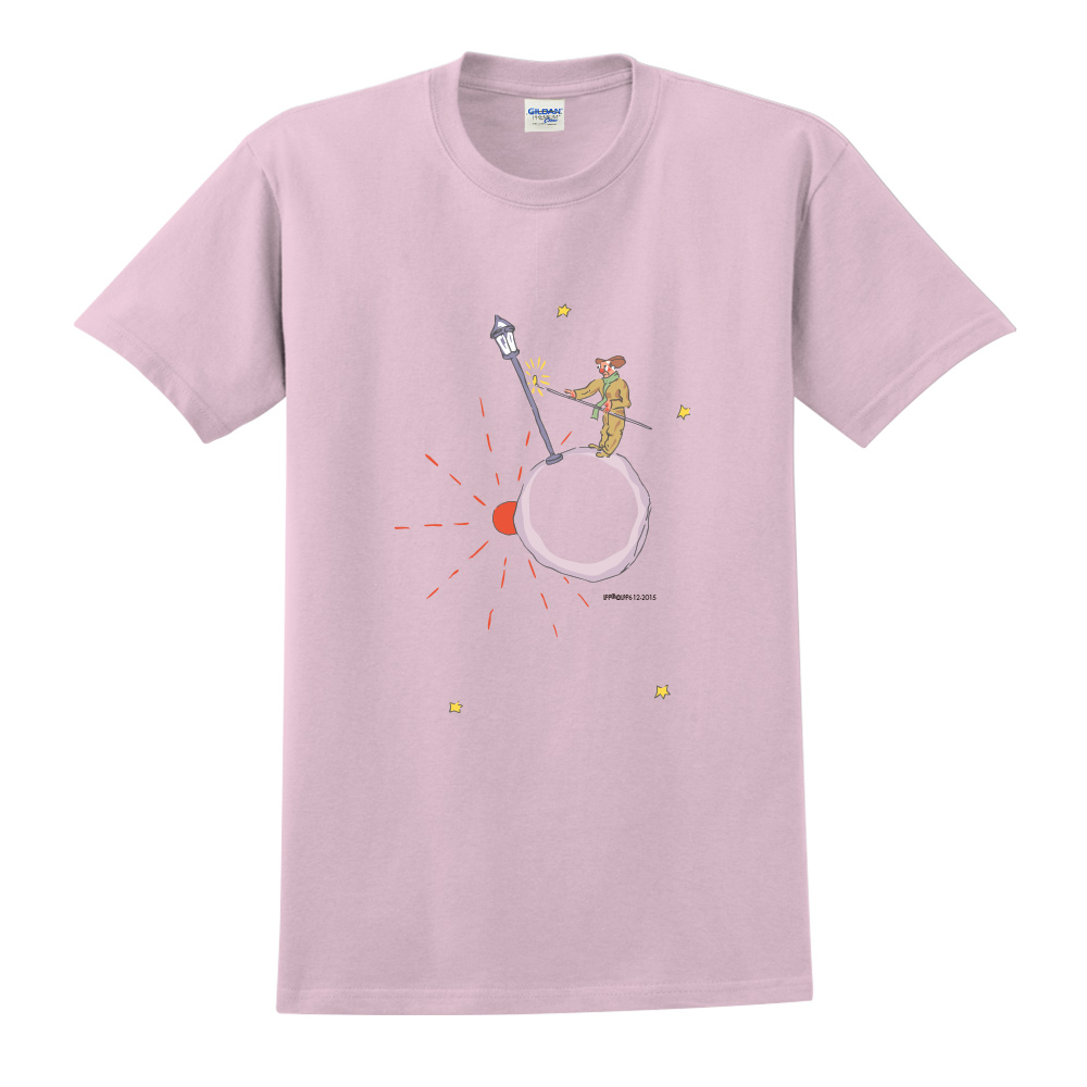 YOSHI850|小王子經典版授權【辛苦的燈夫】短袖修身T-shirt《3色》
