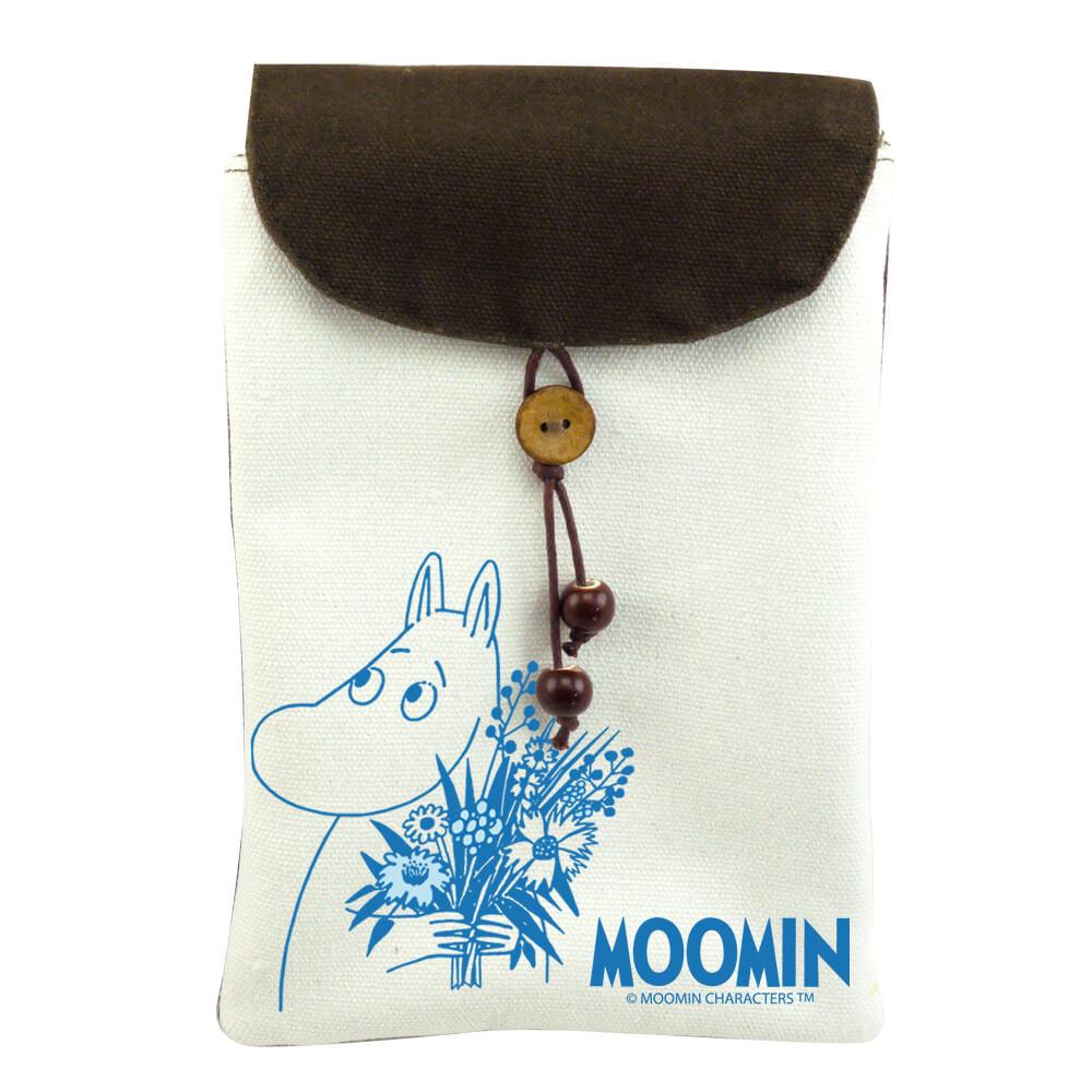 YOSHI850 嚕嚕米正版授權:手機袋【Moomin】(肩背)