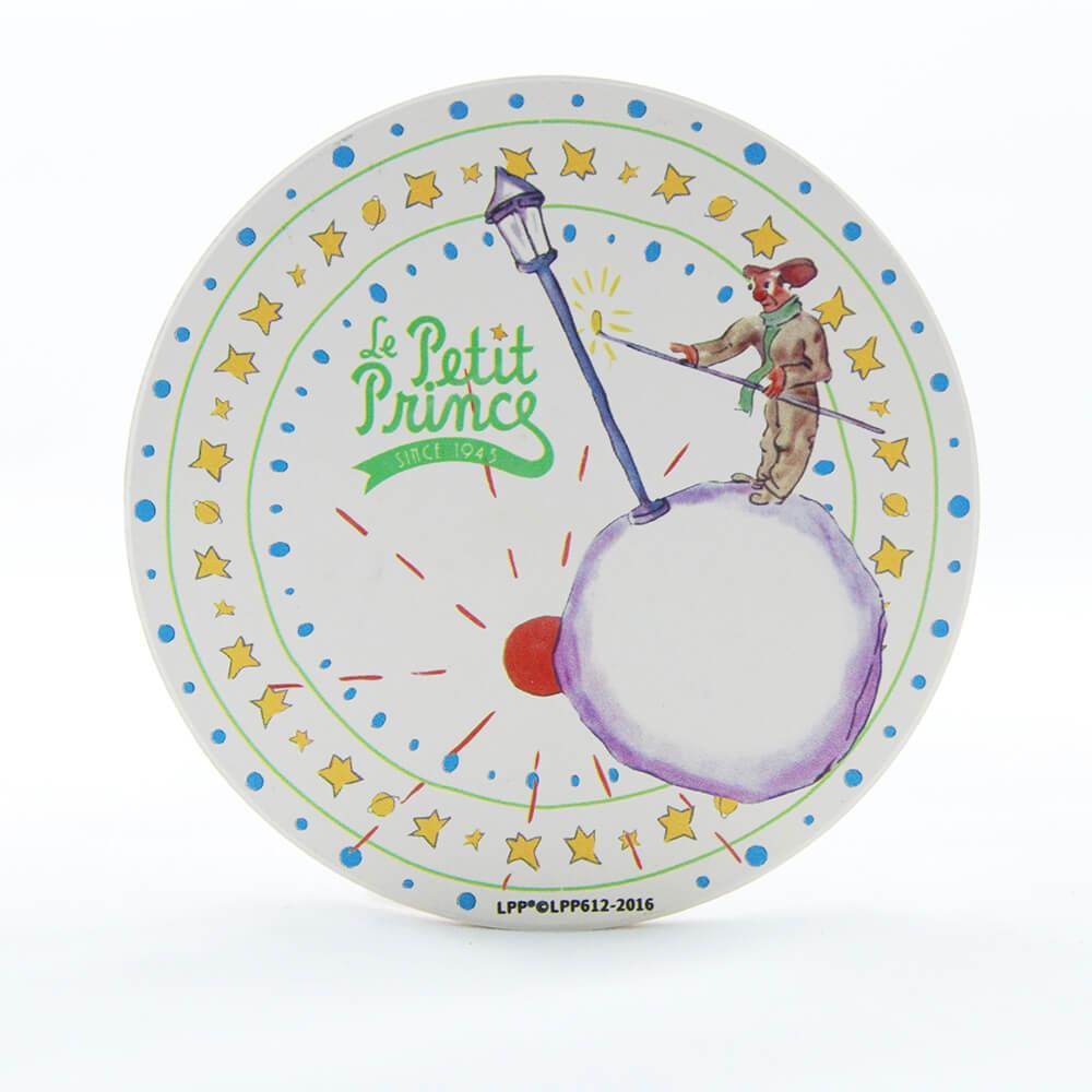 YOSHI850|經典小王子正版授權:吸水杯墊【辛苦的燈夫】(方.圓)