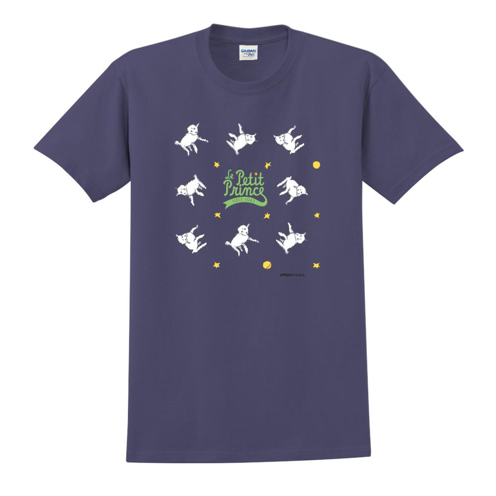 YOSHI850|小王子經典版授權【綿羊】短袖中性T-shirt (藏青)