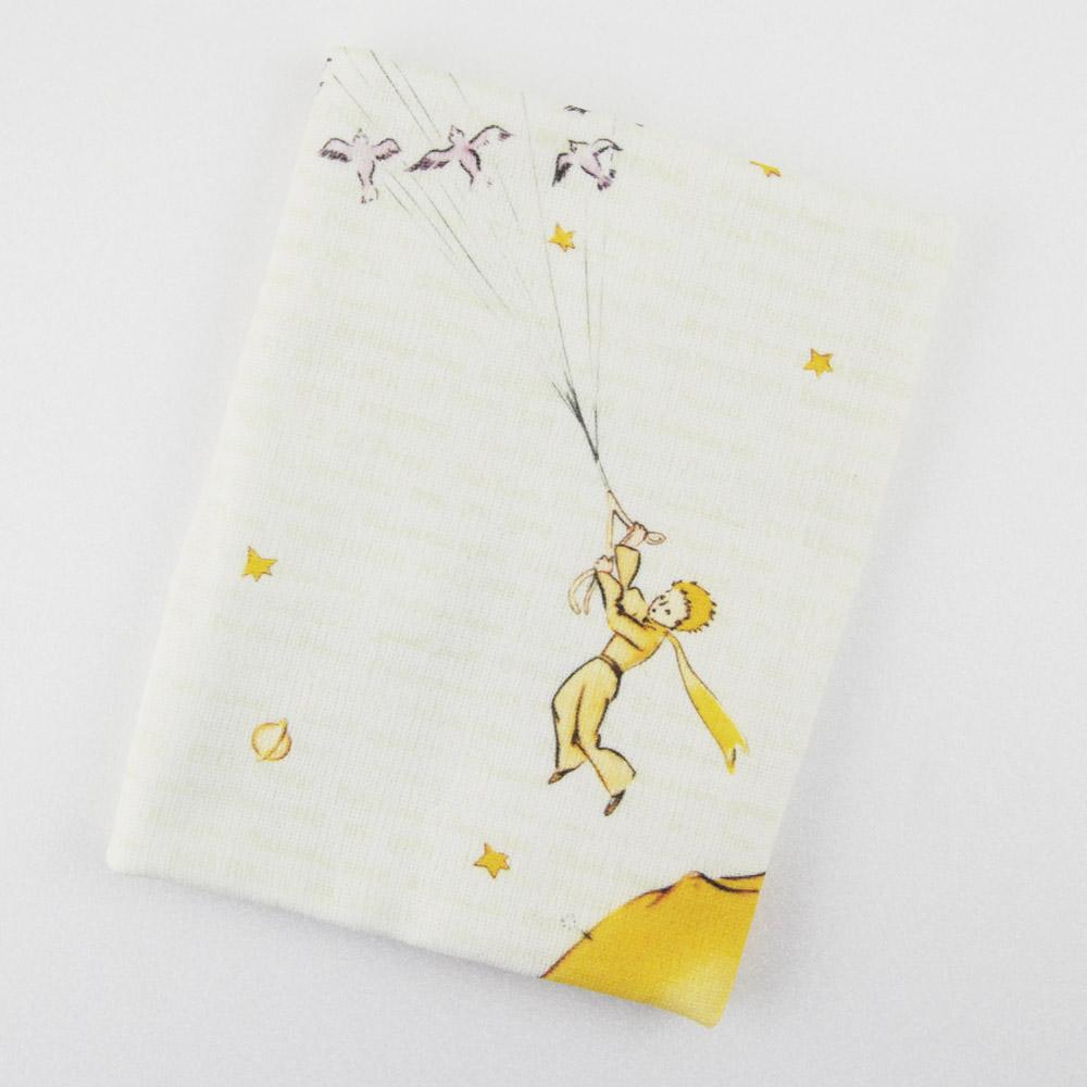 YOSHI850 小王子經典版授權:柔棉小方巾【帶我去旅行】