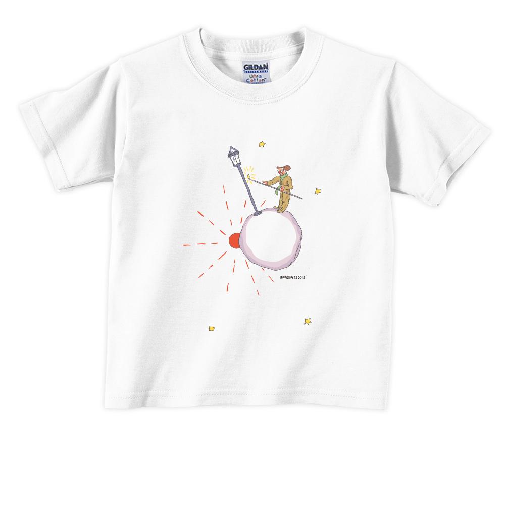 YOSHI850|小王子經典版授權【辛苦的燈夫】短袖兒童T-shirt 《3色》