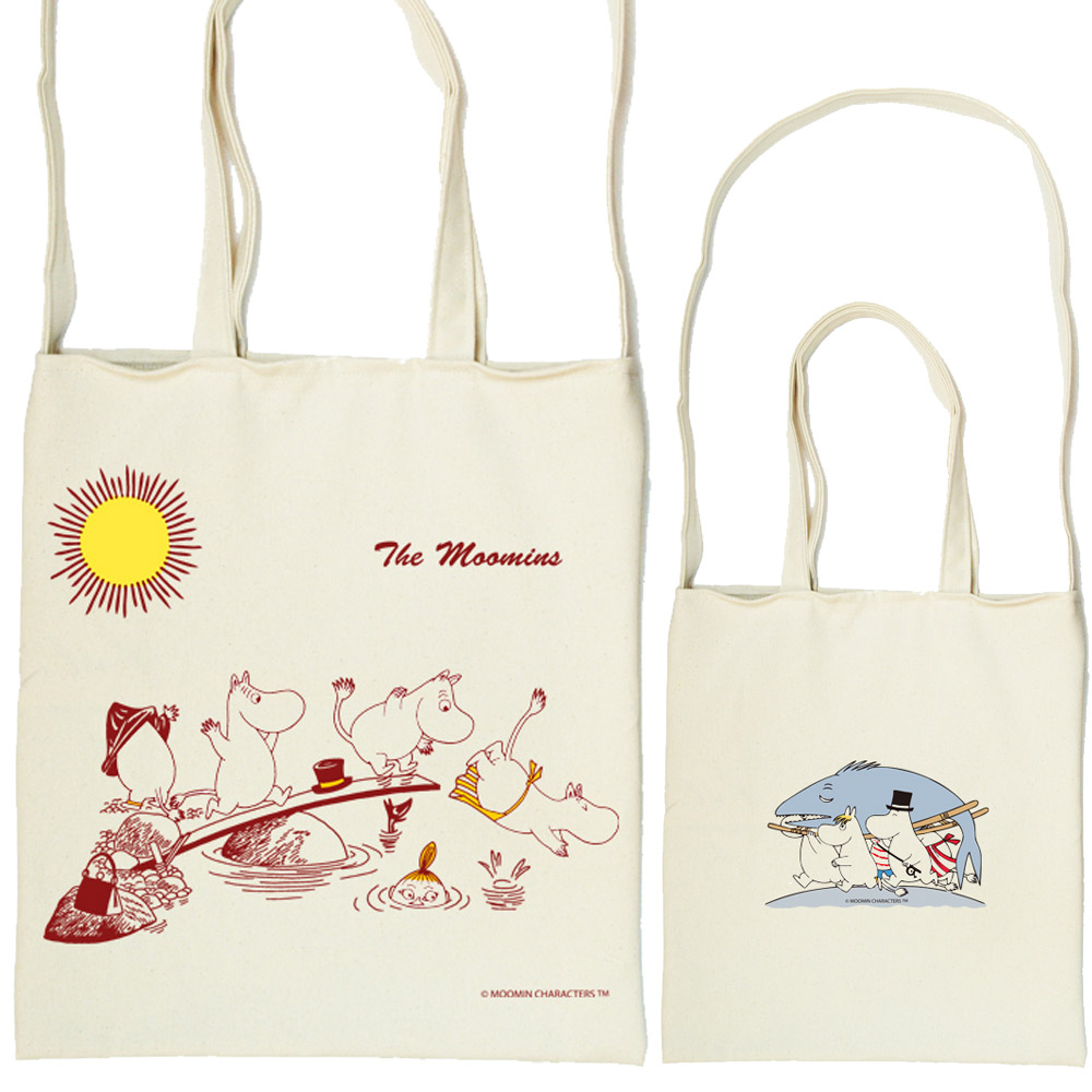 YOSHI850 Moomin嚕嚕米正版授權:斜背包【The Moomin】