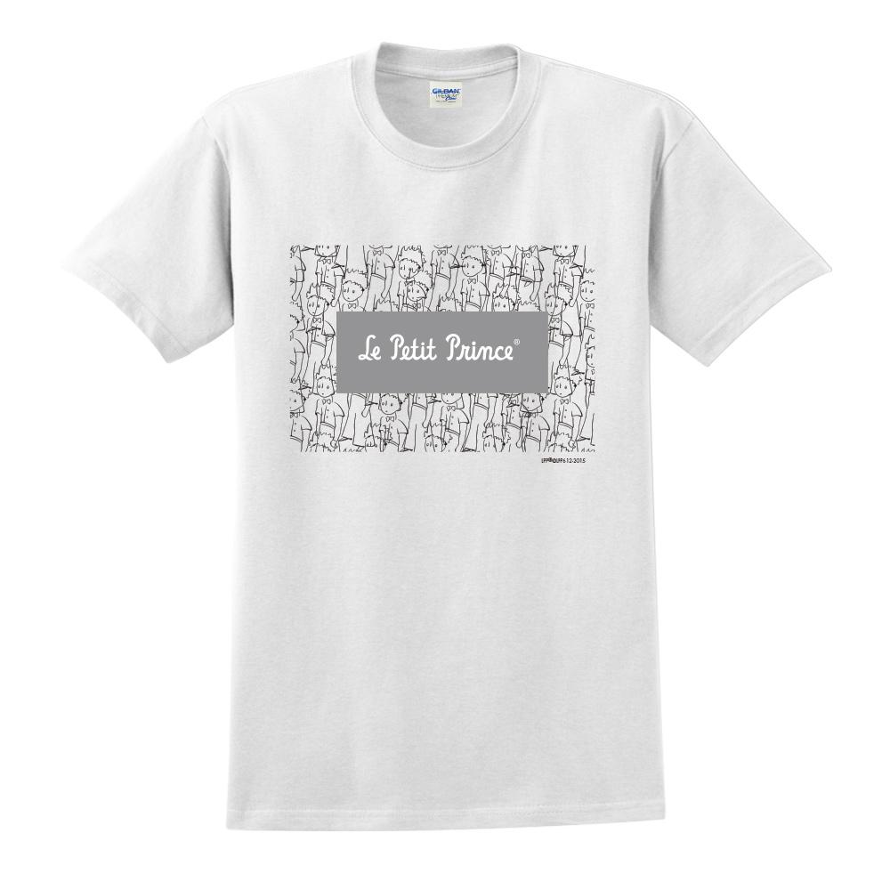 YOSHI850|小王子經典版授權【傻傻的小王子】短袖中性T-shirt (白)