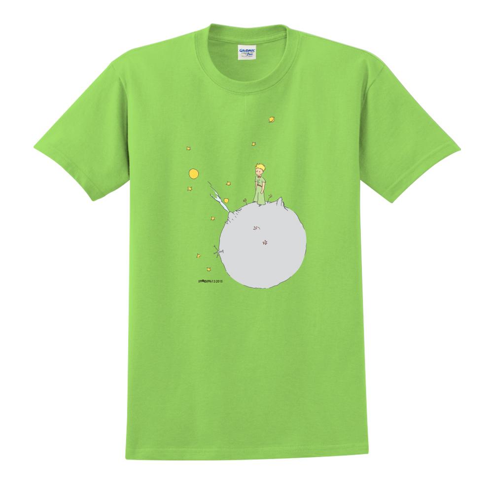 YOSHI850|小王子經典版授權【另一個星球】短袖中性T-shirt (果綠)