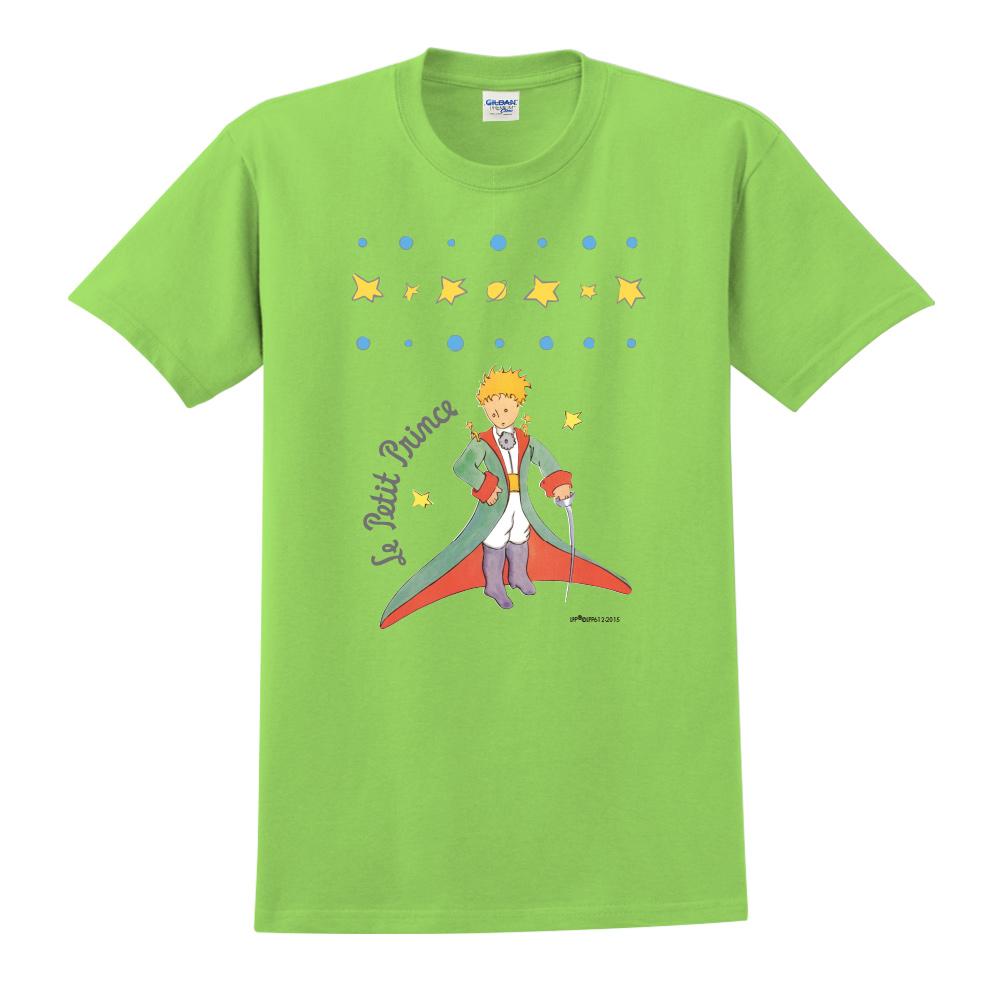 YOSHI850 小王子經典版授權【星星王子】短袖中性T-shirt (果綠)