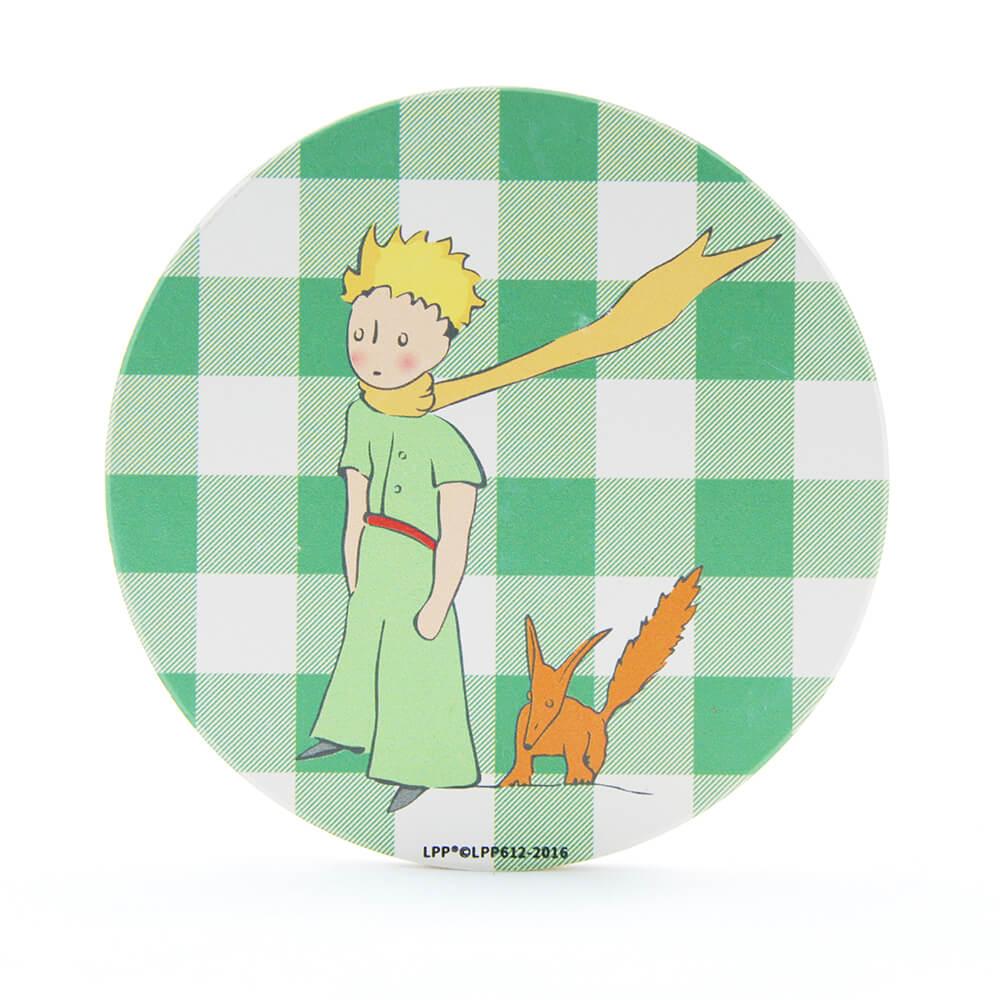 YOSHI850|經典小王子正版授權:吸水杯墊【狐狸朋友】(方.圓)