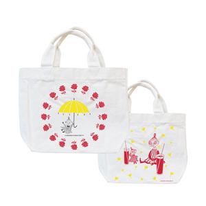 YOSHI850|Moomin嚕嚕米正版授權:小托特包【美寶與小不點】