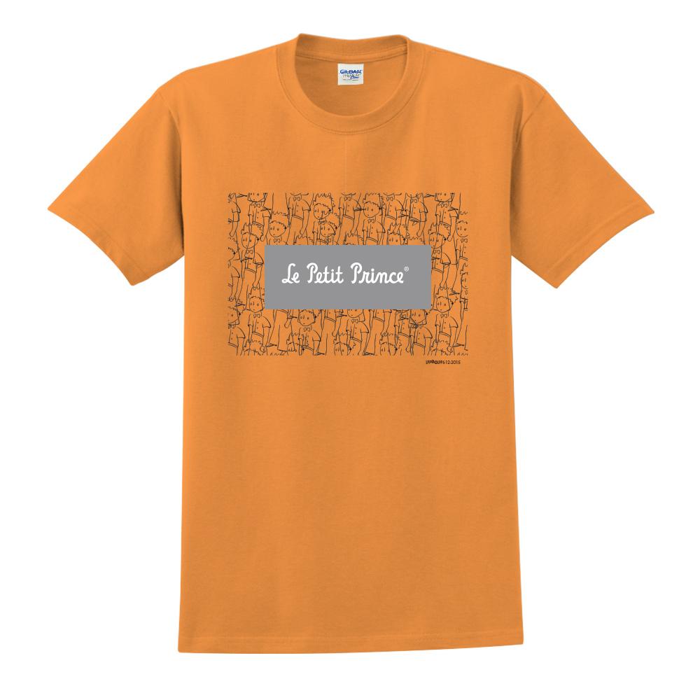 YOSHI850|小王子經典版授權【傻傻的小王子】短袖中性T-shirt (橘)