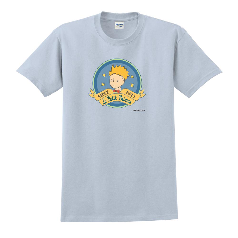 YOSHI850|小王子經典版授權【跟你說聲Hi】短袖中性T-shirt (水藍)