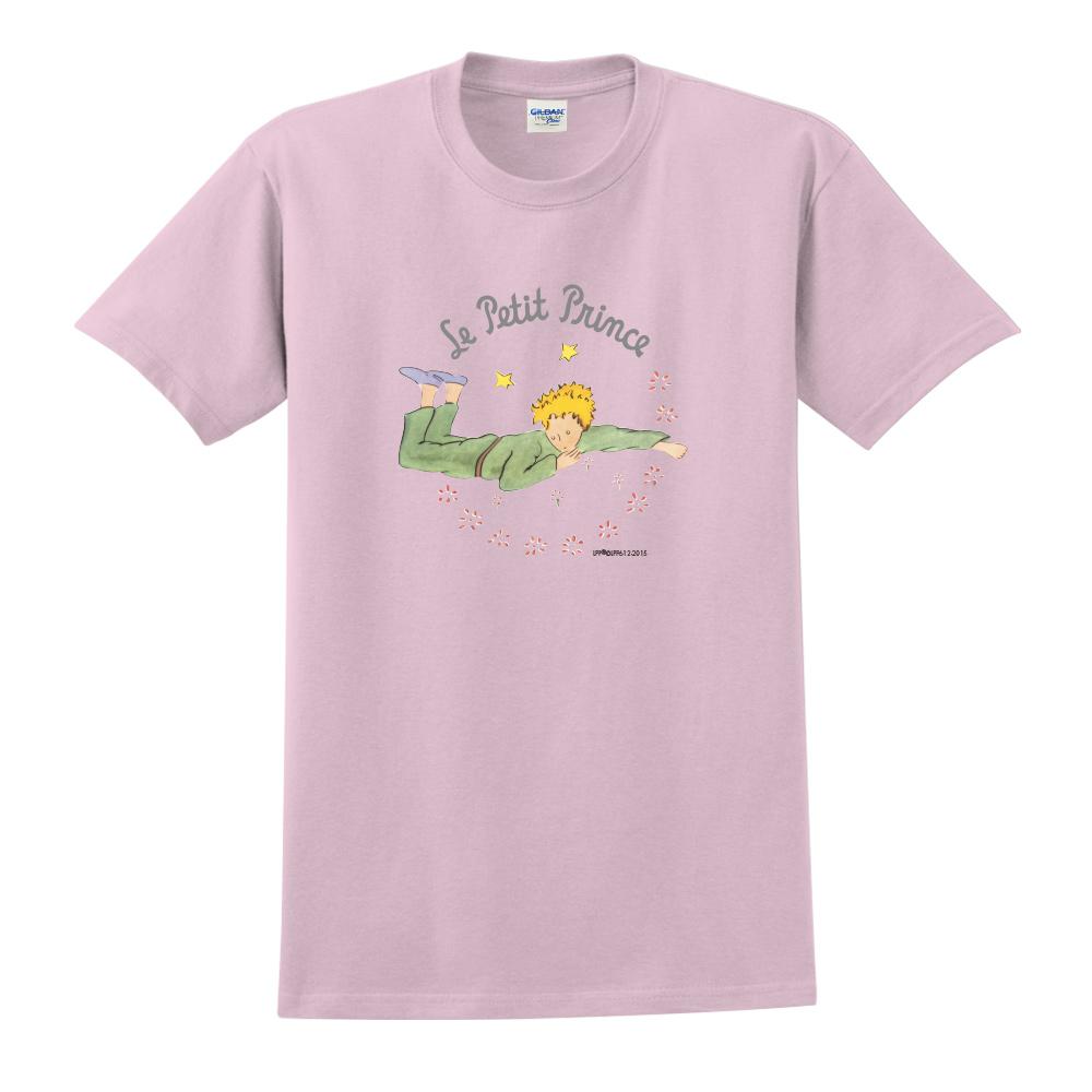 YOSHI850 小王子經典版授權【哭泣的小王子】短袖中性T-shirt (粉紅)