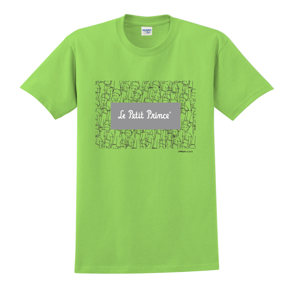 YOSHI850 小王子經典版授權【傻傻的小王子】短袖中性T-shirt (果綠)