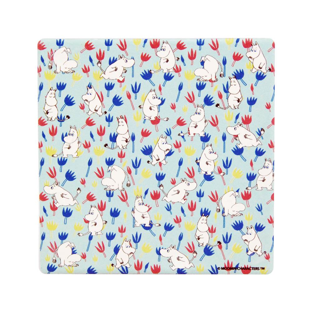 YOSHI850|Moomin嚕嚕米正版授權:吸水杯墊【Moomin精靈】(方.圓)