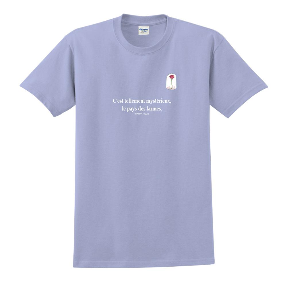 YOSHI850 小王子經典版授權【夕陽】短袖中性T-shirt (卡藍)