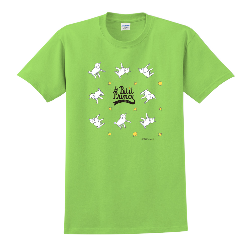 YOSHI850 小王子經典版授權【綿羊】短袖中性T-shirt (果綠)