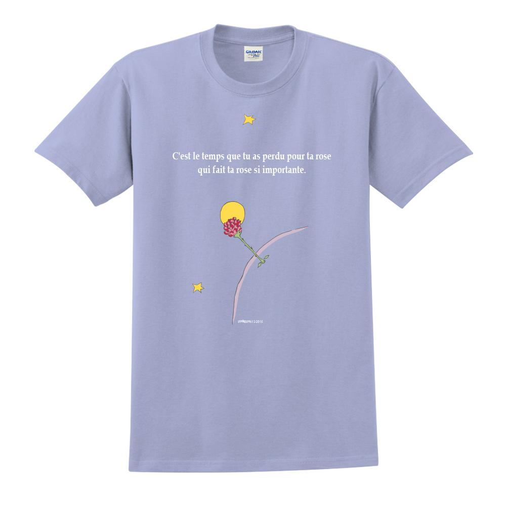YOSHI850|小王子經典版授權【專屬愛情】短袖中性T-shirt (卡藍)