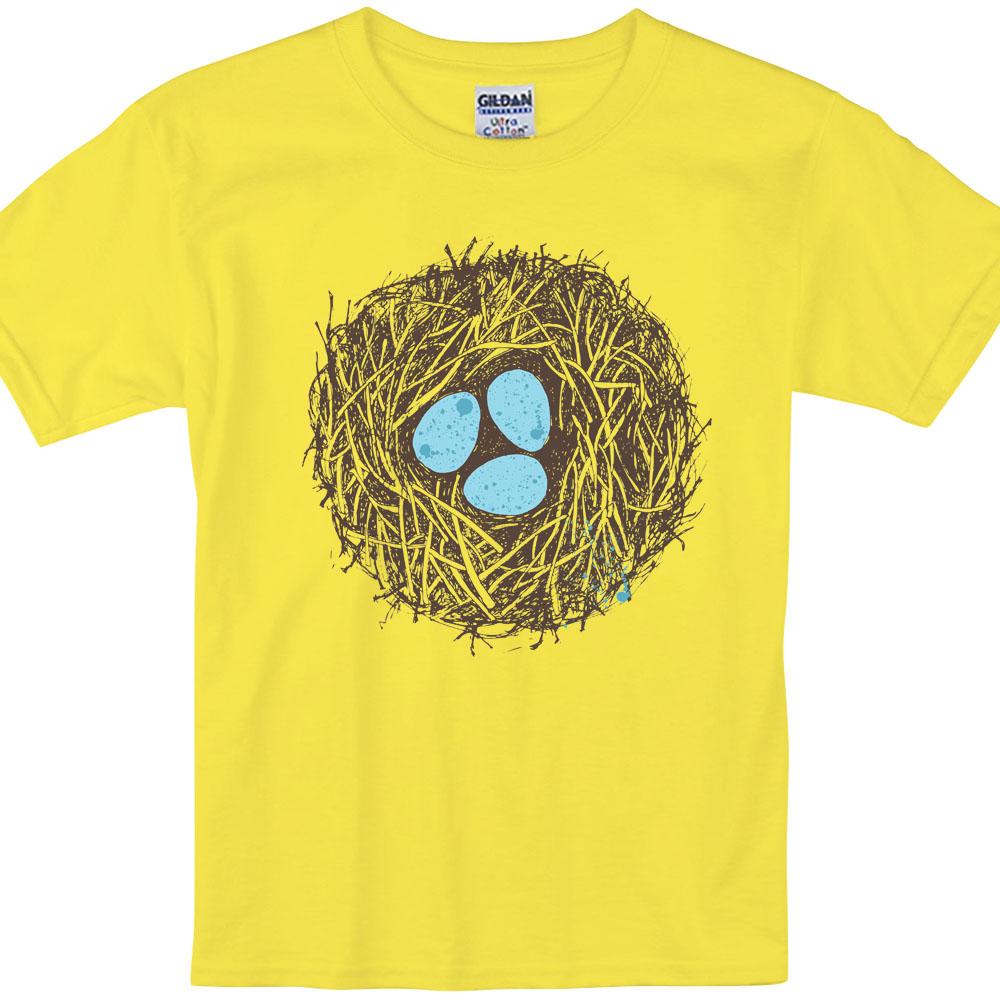 YOSHI850 新創設計師850 Collections【嬉鬧星球】短袖兒童T-shirt (藏青)