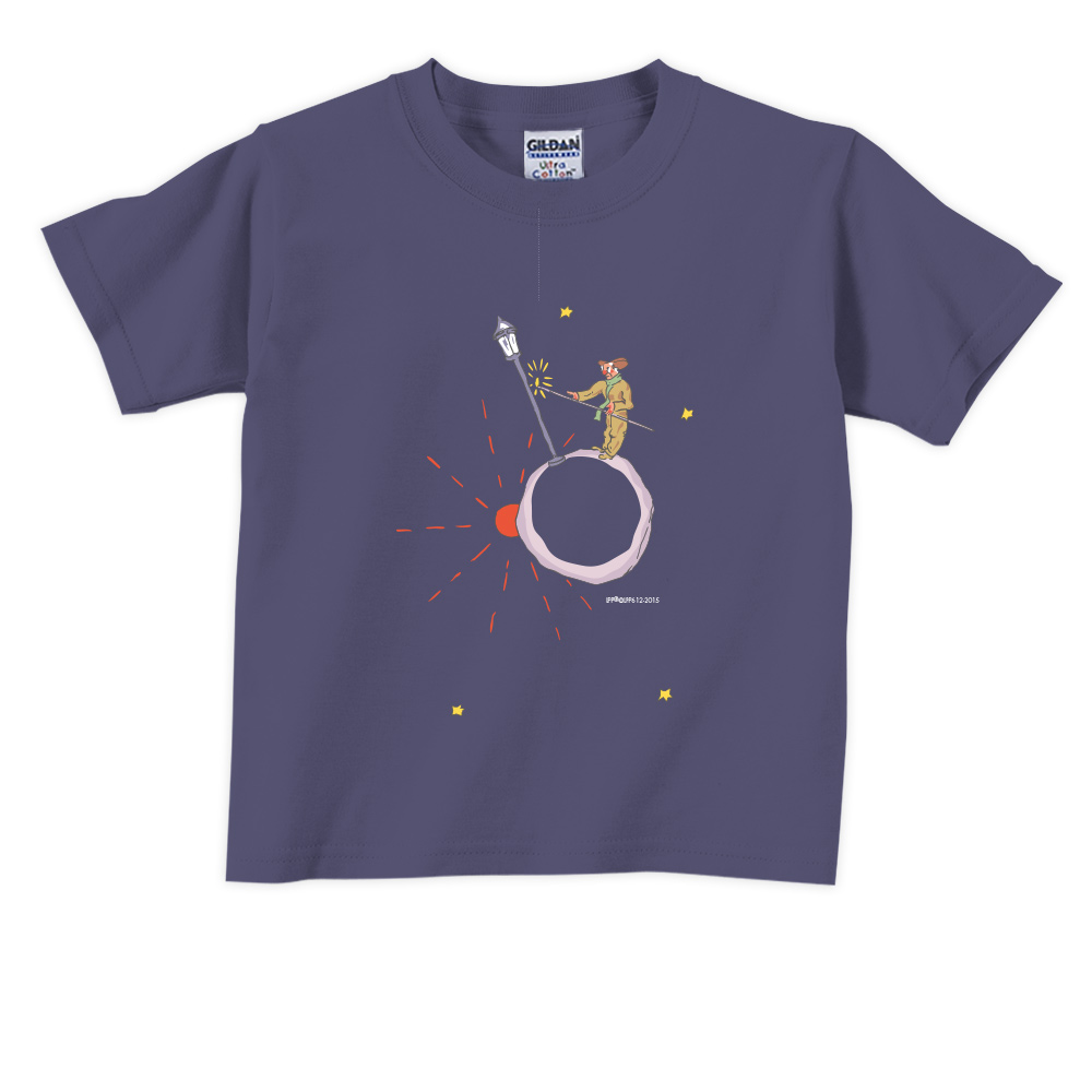 YOSHI850|小王子經典版授權【辛苦的燈夫】短袖兒童T-shirt 《6色》