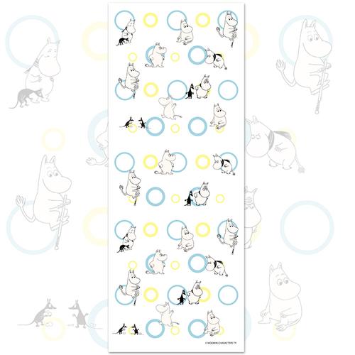 YOSHI850|嚕嚕米正版授權-柔棉(單層)紗布毛巾 【Moomin撐竿跳】