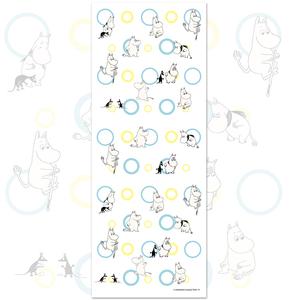 YOSHI850 嚕嚕米正版授權-柔棉(單層)紗布毛巾 【Moomin撐竿跳】