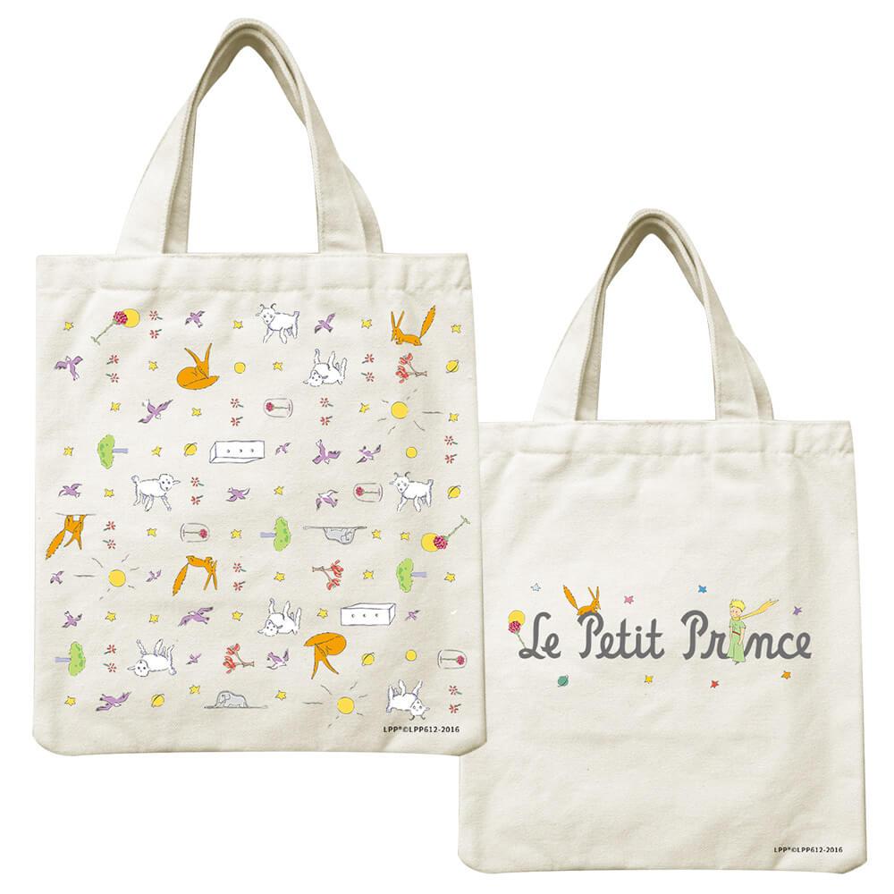 YOSHI850|小王子經典版授權系列:小帆布包【小王子樂園】