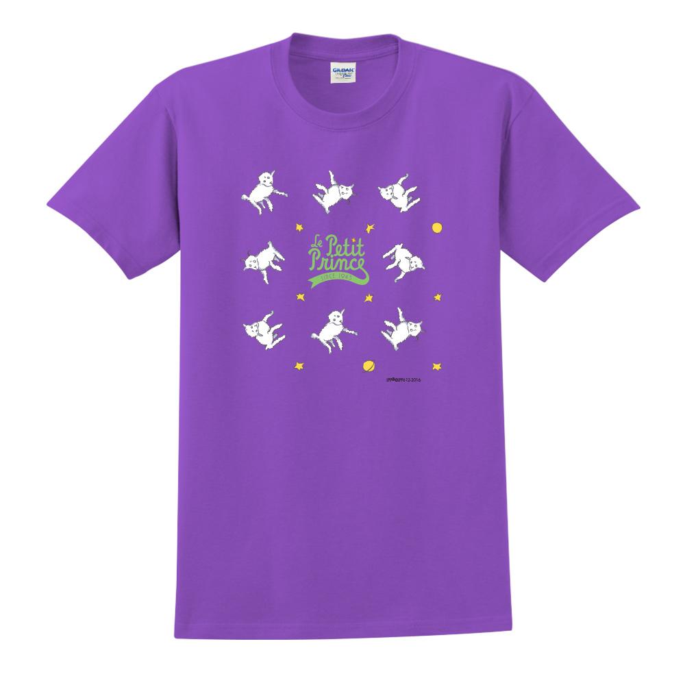 YOSHI850 小王子經典版授權【綿羊】短袖中性T-shirt (紫)