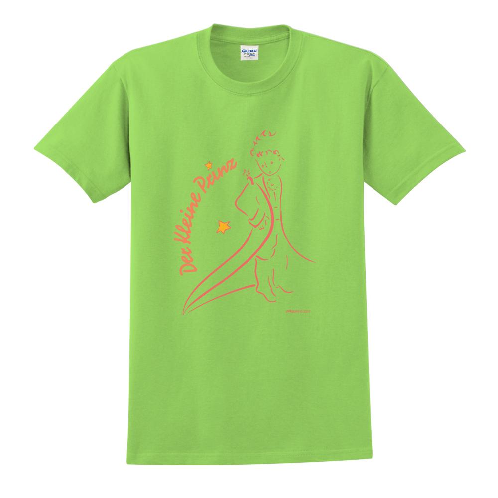 YOSHI850|小王子經典版授權【描繪小王子】短袖中性T-shirt (果綠)
