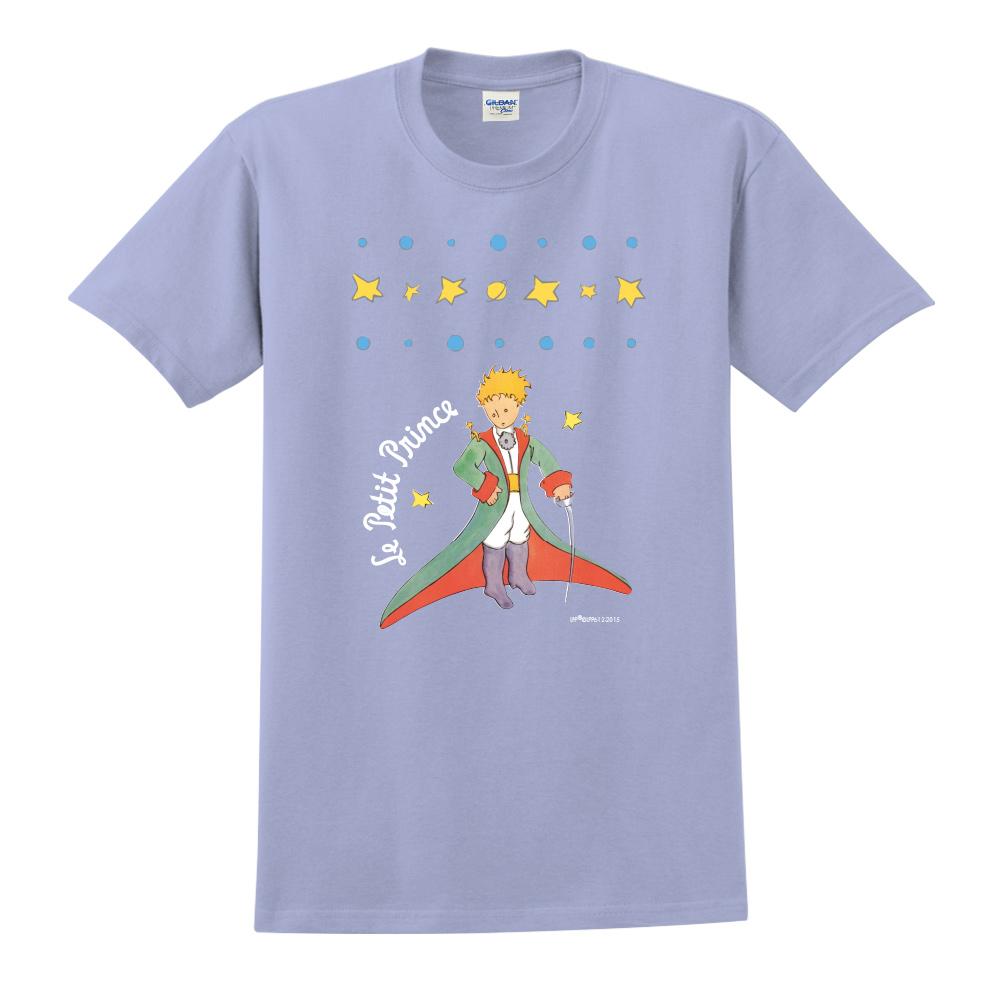 YOSHI850 小王子經典版授權【星星王子】短袖中性T-shirt (粉紅)