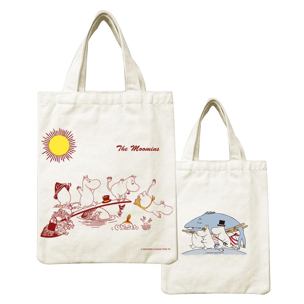 YOSHI850|Moomin嚕嚕米正版授權:小帆布包【The Moomin】