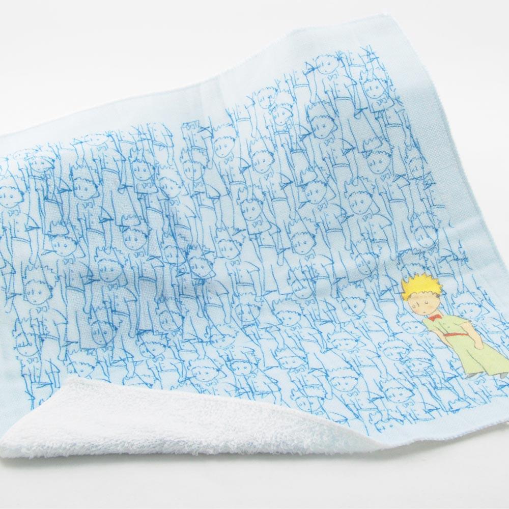 YOSHI850|小王子經典版授權:柔棉小方巾【傻傻的小王子】