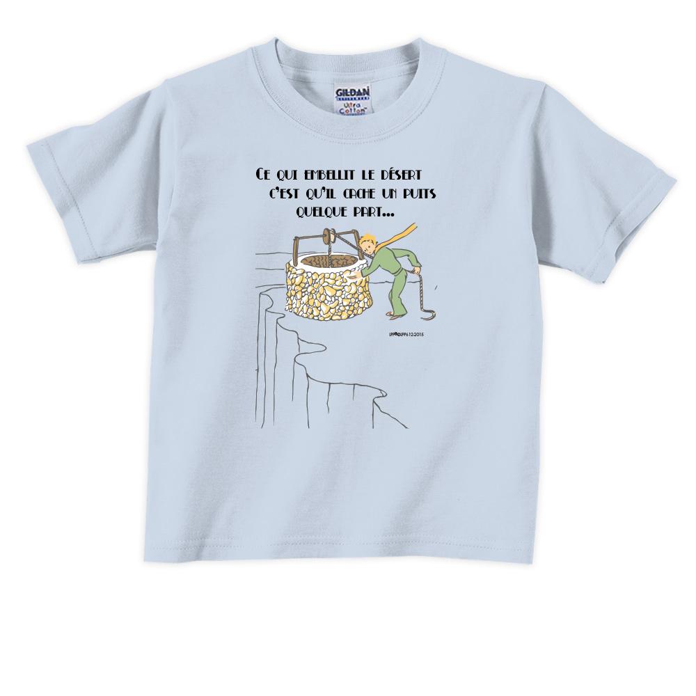 YOSHI850 小王子經典版授權【讓沙漠美麗的水井】短袖兒童T-shirt 《3色》