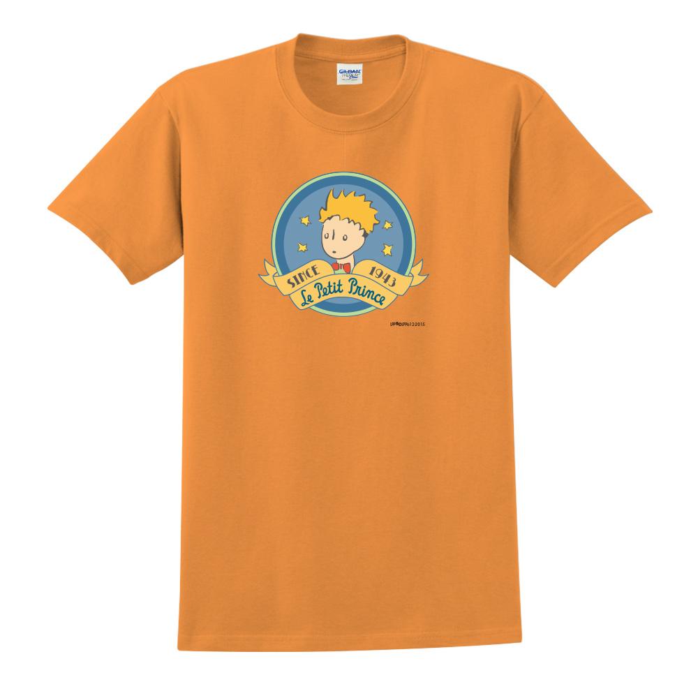 YOSHI850|小王子經典版授權【跟你說聲Hi】短袖中性T-shirt (橘)