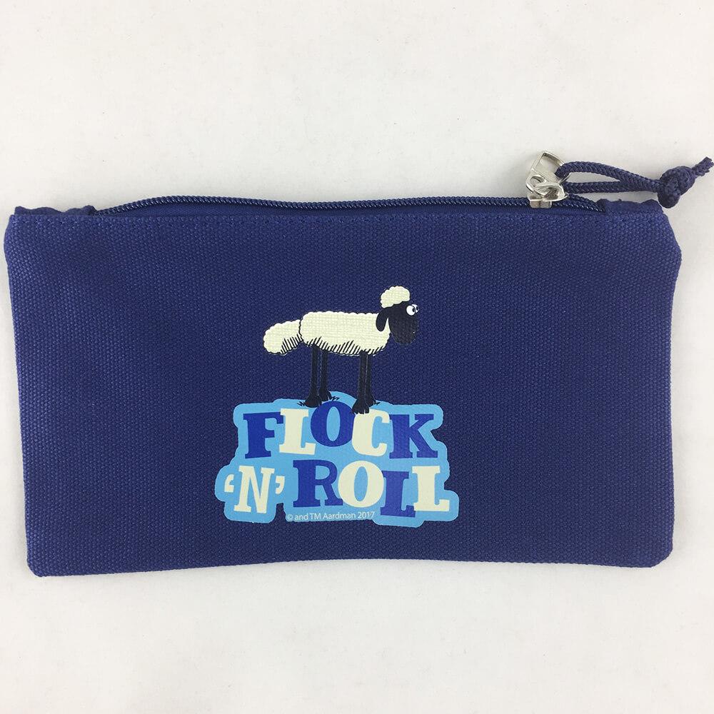 YOSHI850 笑笑羊正版授權:筆袋【藍】
