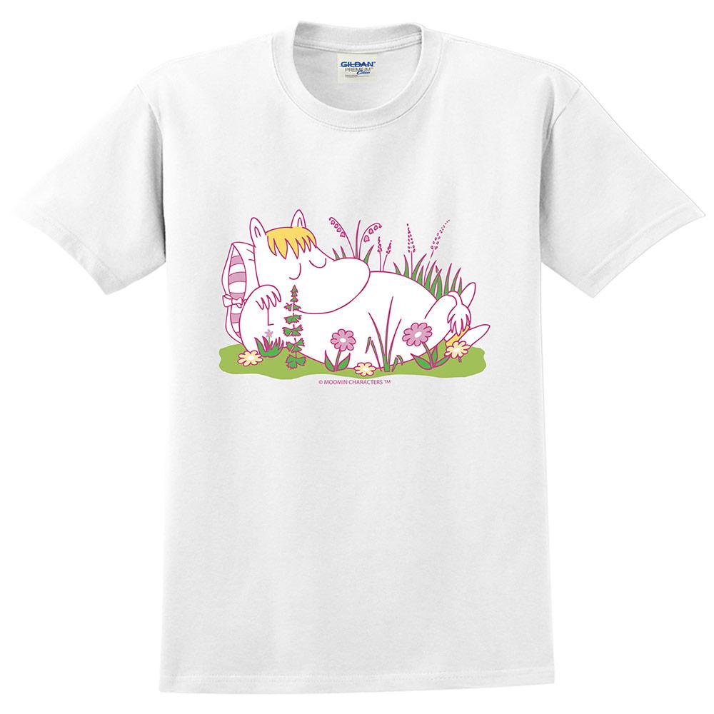 YOSHI850|Moomin嚕嚕米正版授權:T恤【午後】成人短袖 T-shirt