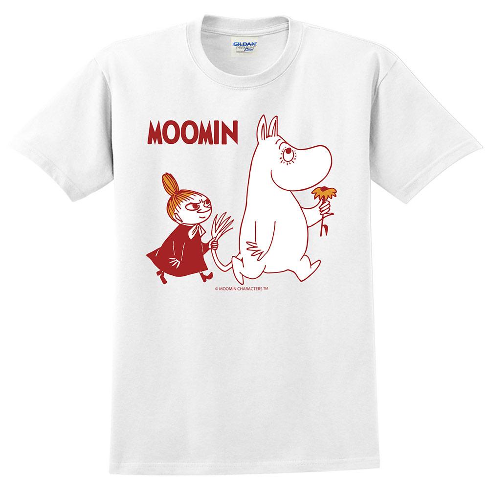 YOSHI850|Moomin嚕嚕米正版授權:T恤【跟屁蟲】成人短袖 T-shirt