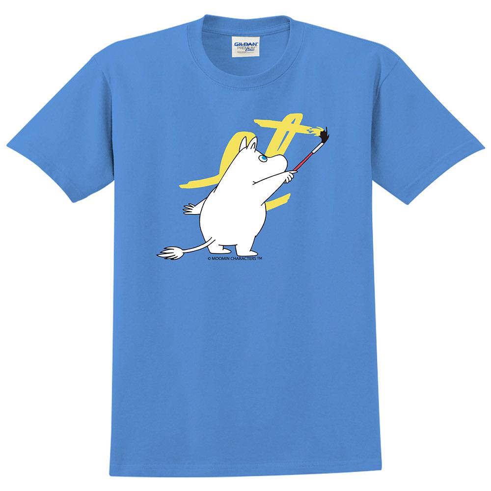 YOSHI850|Moomin嚕嚕米正版授權:T恤【塗鴉】成人短袖 T-shirt