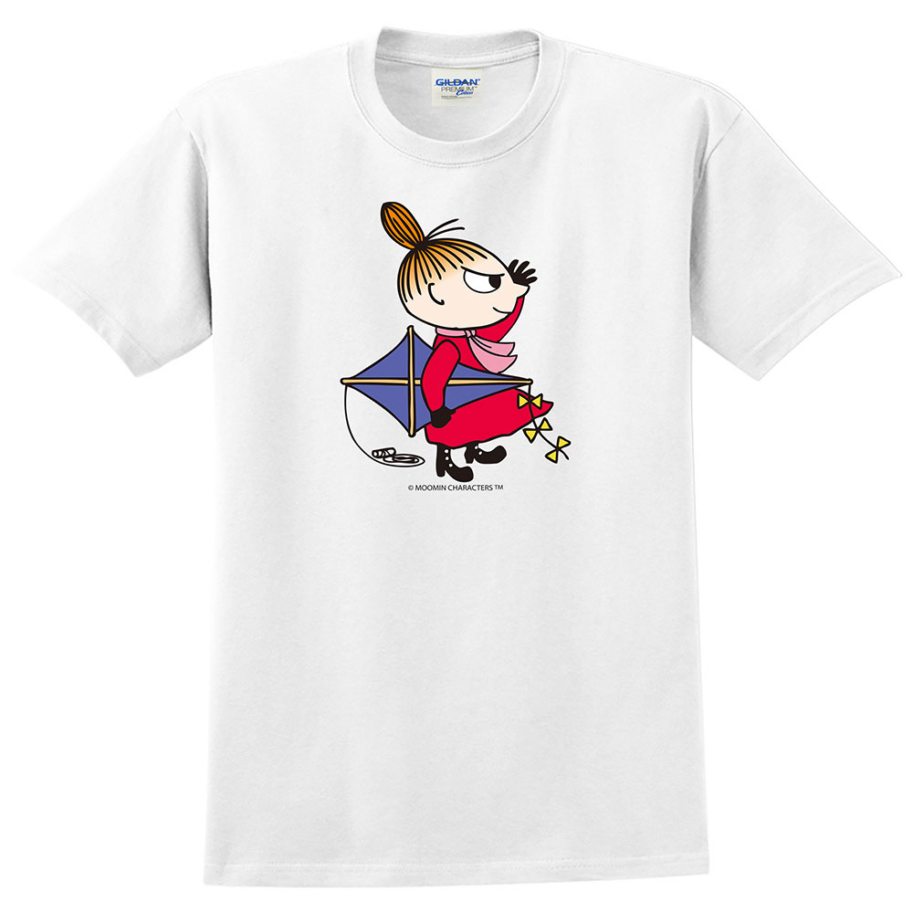 YOSHI850|Moomin嚕嚕米正版授權:T恤【該往哪裡去飛翔】成人短袖 T-shirt