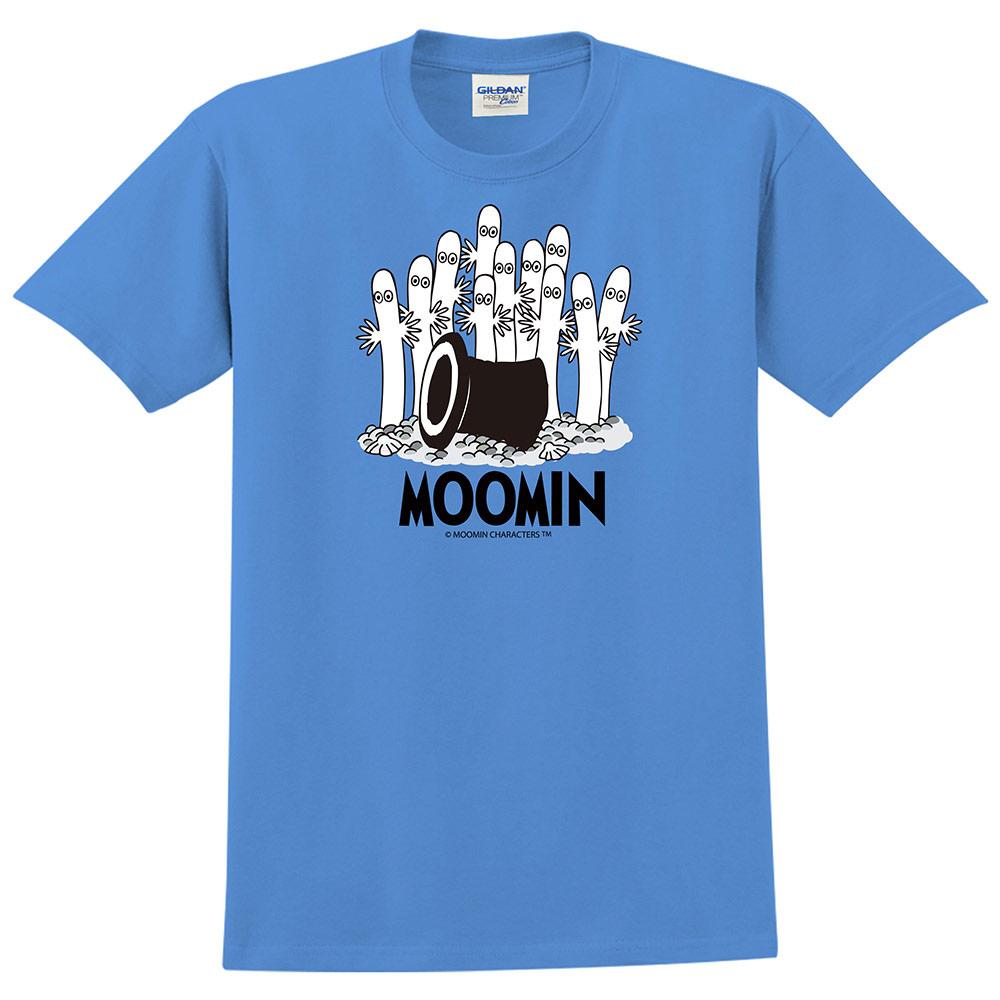 YOSHI850 Moomin嚕嚕米正版授權:T恤【神秘的魔法帽】成人短袖 T-shirt