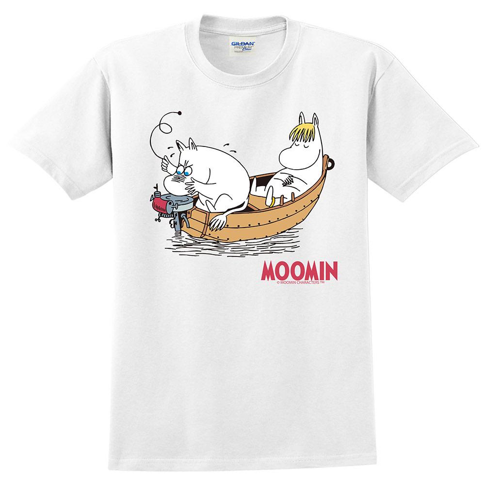 YOSHI850|Moomin嚕嚕米正版授權:T恤【愜意的可兒】成人短袖 T-shirt