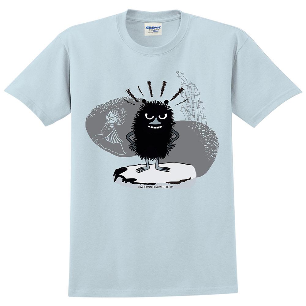 YOSHI850|Moomin嚕嚕米正版授權:T恤【阿丁】成人短袖 T-shirt