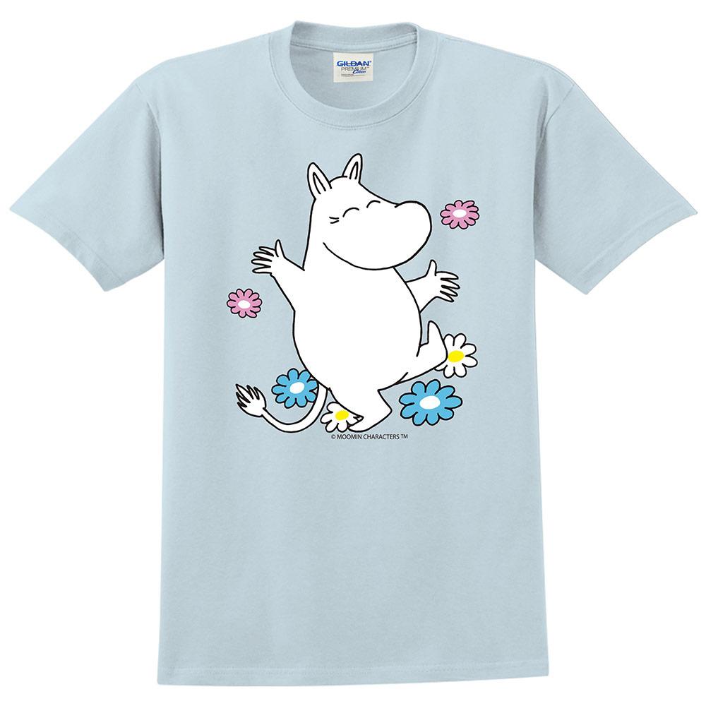 YOSHI850|Moomin嚕嚕米正版授權:T恤【花漾】成人短袖 T-shirt