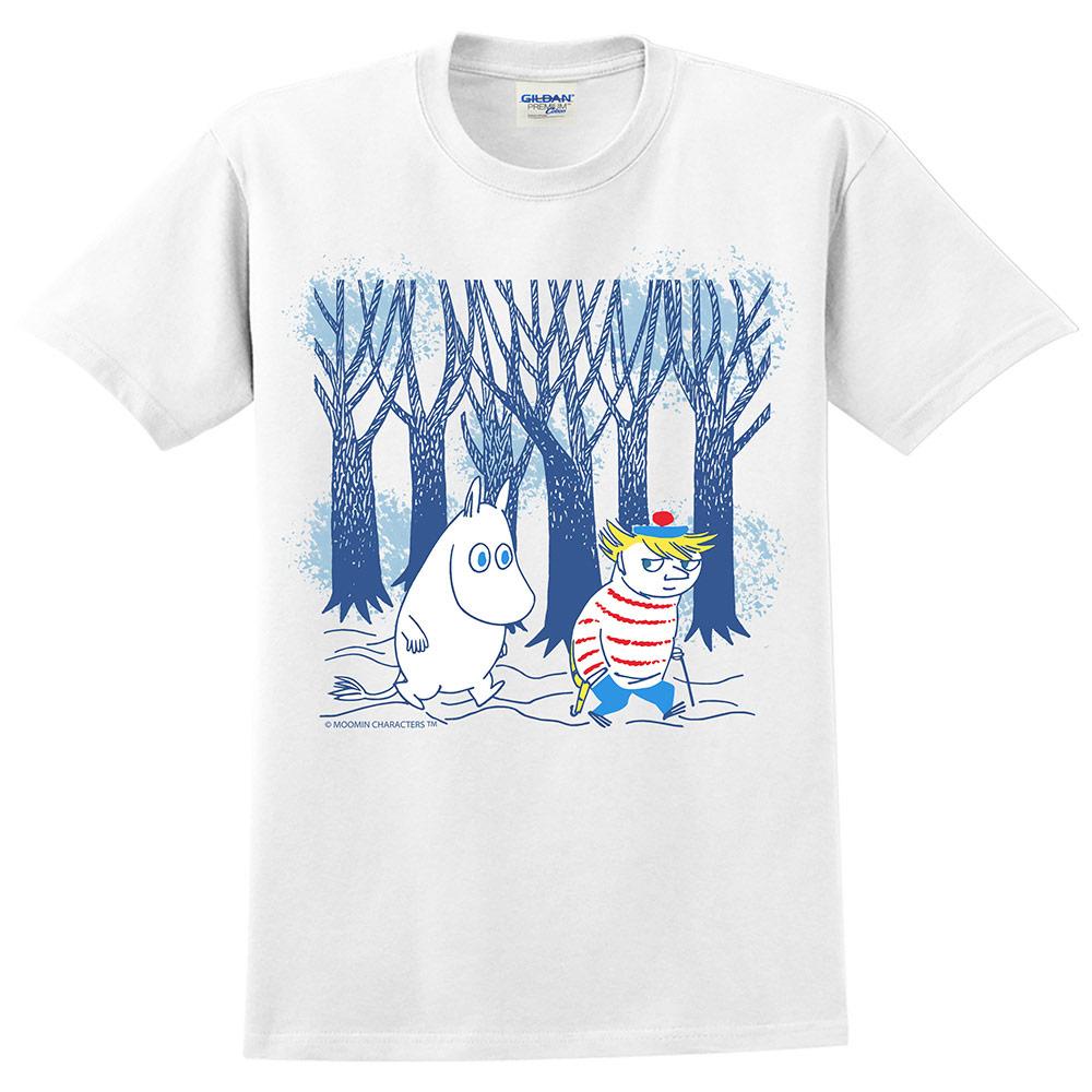YOSHI850 Moomin嚕嚕米正版授權:T恤【嚕嚕米與迪琪】成人短袖 T-shirt
