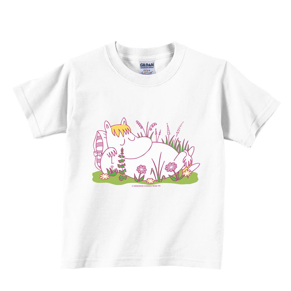 YOSHI850|Moomin嚕嚕米正版授權:T恤【午後】兒童短袖 T-shirt