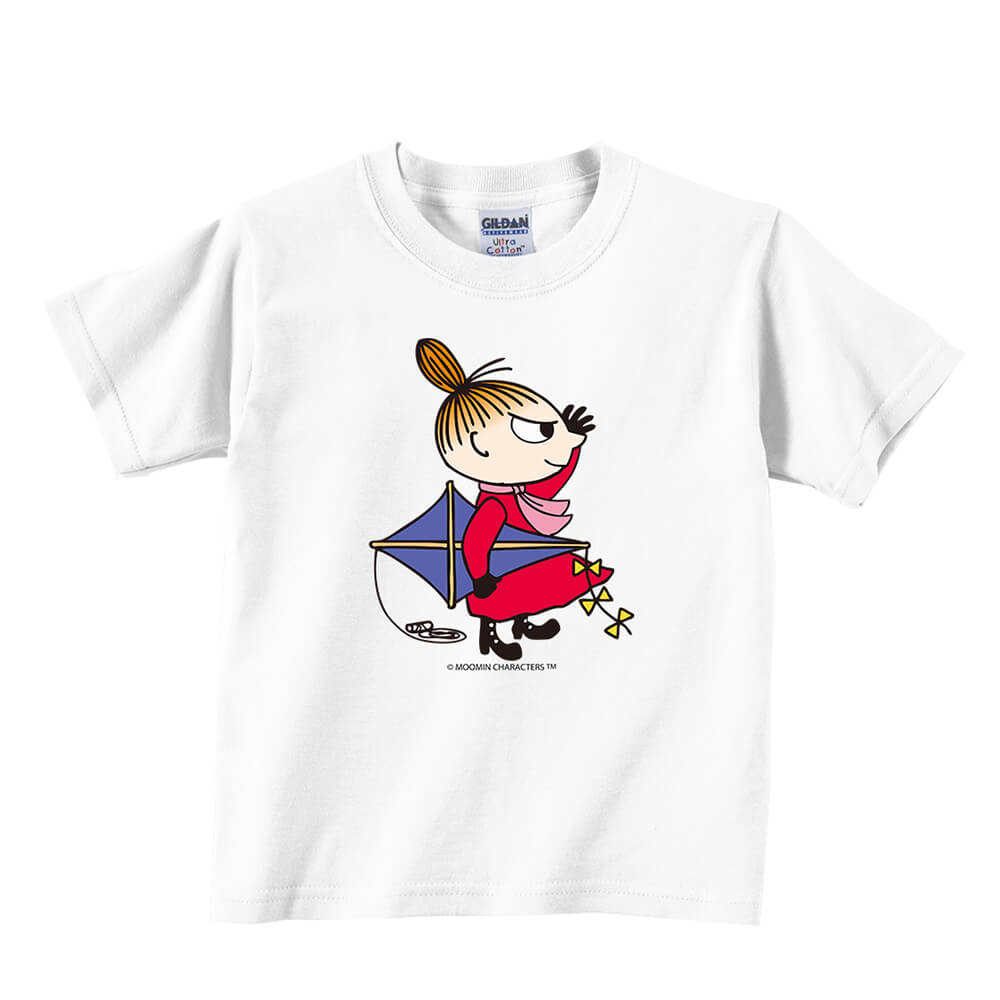 YOSHI850 Moomin嚕嚕米正版授權:T恤【該往哪裡去飛翔】兒童短袖 T-shirt