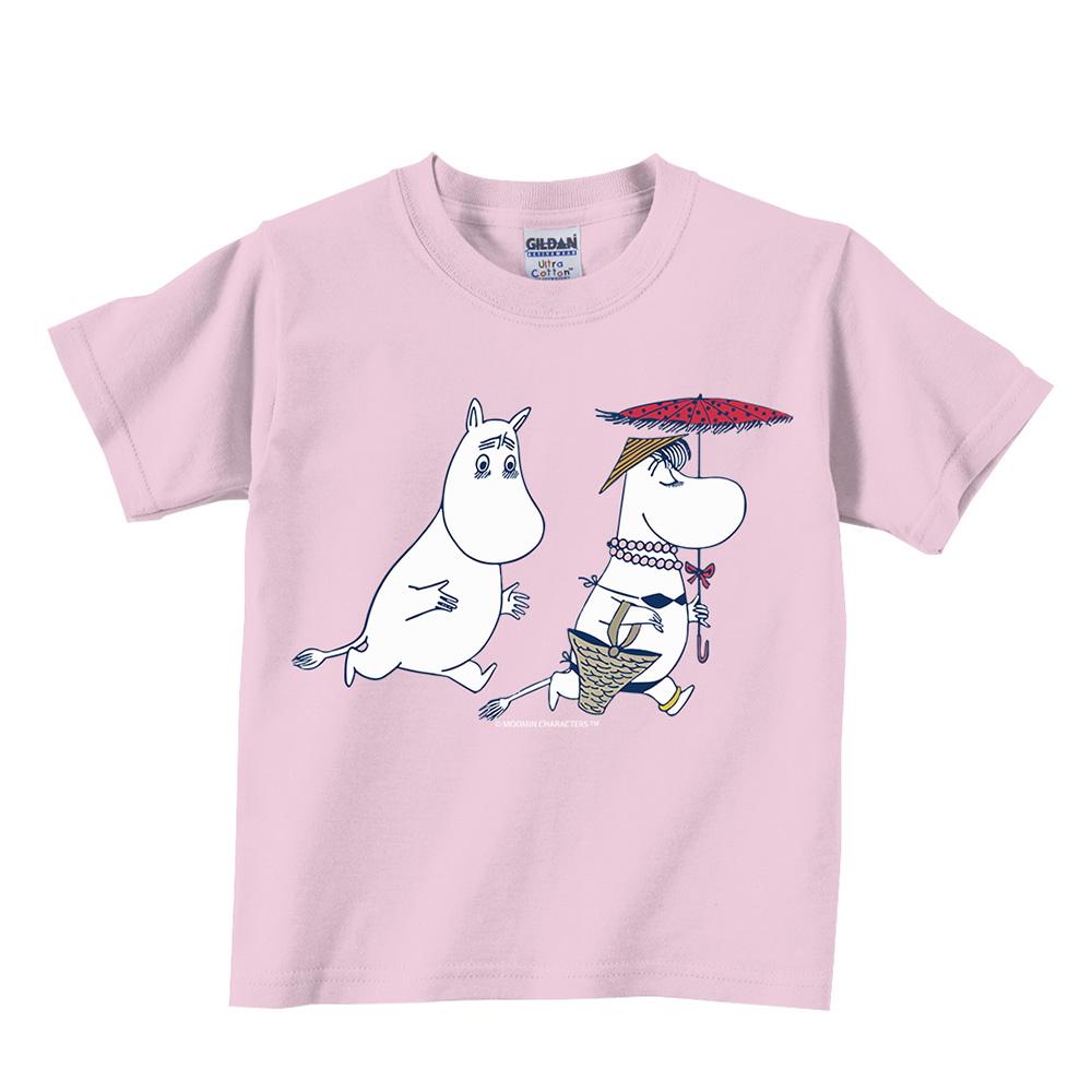 YOSHI850|Moomin嚕嚕米正版授權:T恤【夏日海灘】兒童短袖 T-shirt