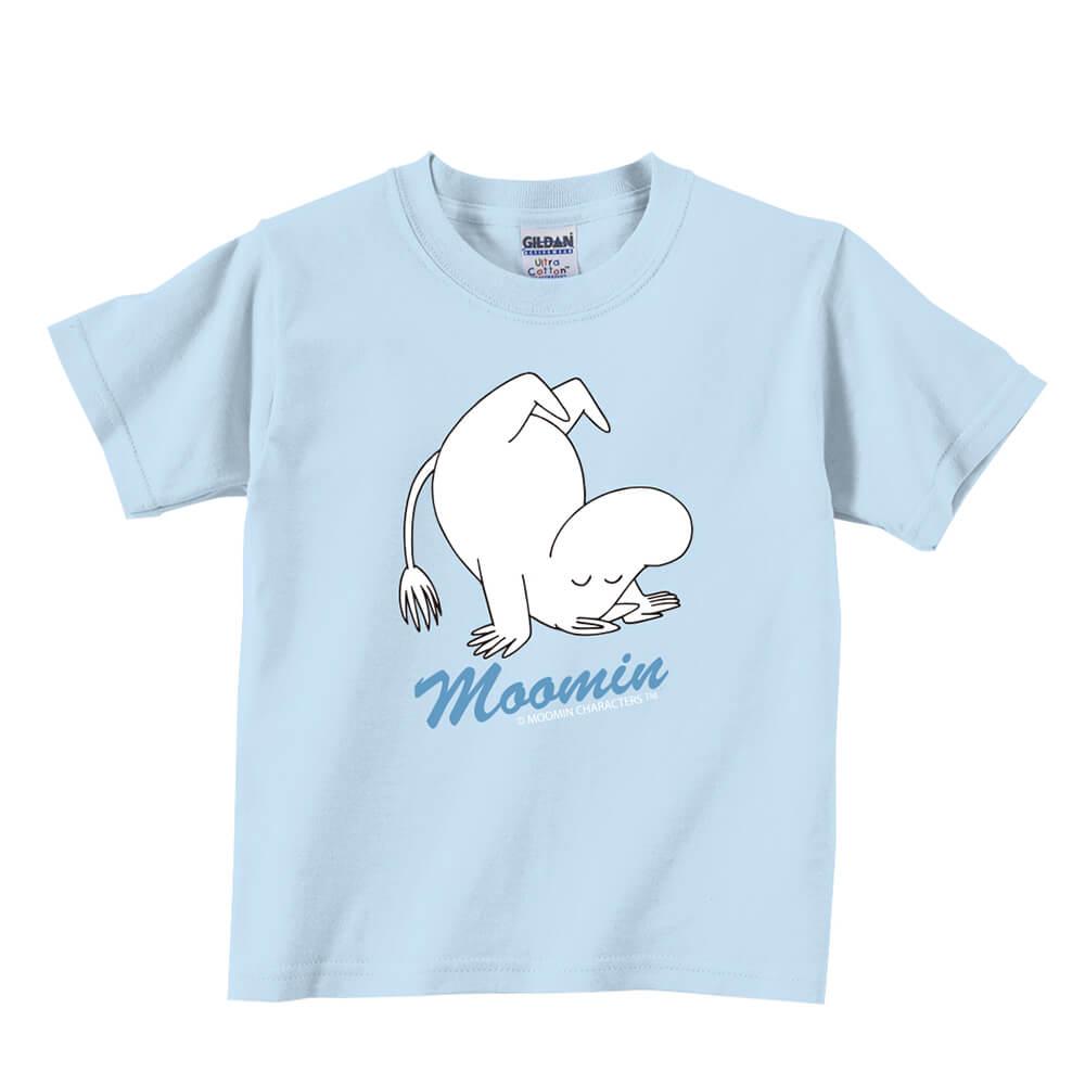 YOSHI850|Moomin嚕嚕米正版授權:T恤【翻跟斗】兒童短袖 T-shirt