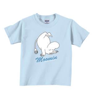 YOSHI850 Moomin嚕嚕米正版授權:T恤【翻跟斗】兒童短袖 T-shirt