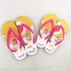 YOSHI850 Moomin嚕嚕米正版授權:夾腳拖鞋【02】女/男