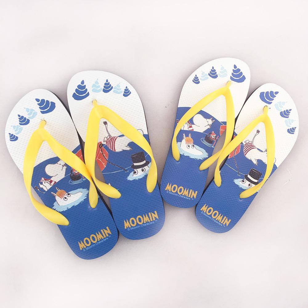 YOSHI850|Moomin嚕嚕米正版授權:夾腳拖鞋【05】女/男